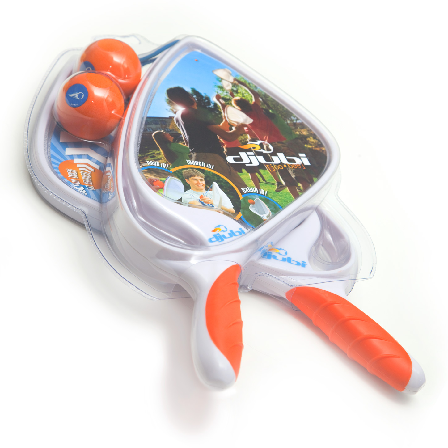 The Original Djubi game in packaging