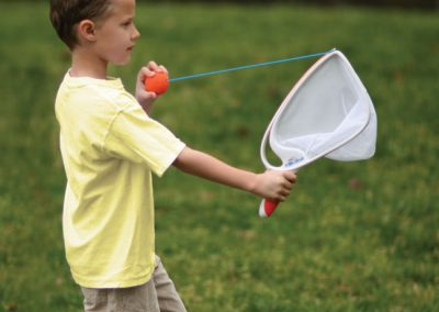 Young children love to play outside with Djubi!